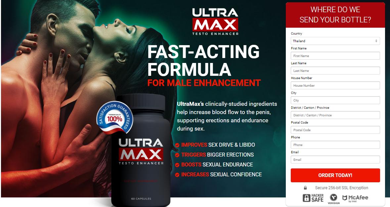 UltraMax Testo Enhancer